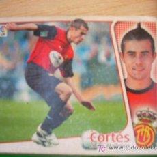Cromos de Fútbol: CROMO DE CORTÉS // RCD MALLORCA // LIGA 2004 - 2005 // EDICIONES ESTE. . Lote 5910310