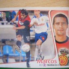 Cromos de Fútbol: CROMO DE MARCOS // RCD MALLORCA // LIGA 2004 - 2005 // EDICIONES ESTE. . Lote 5910339