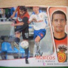 Cromos de Fútbol: CROMO DE MARCOS // RCD MALLORCA // LIGA 2004 - 2005 // EDICIONES ESTE. . Lote 5910342