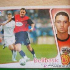 Cromos de Fútbol: CROMO DE DELIBASIC // RCD MALLORCA // LIGA 2004 - 2005 // EDICIONES ESTE. . Lote 5910363