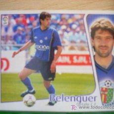 Cromos de Fútbol: CROMO DE BELENGUER // GETAFE CF // LIGA 2004 - 2005 // EDICIONES ESTE. . Lote 5910414