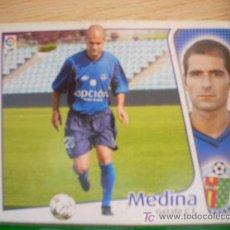 Cromos de Fútbol: CROMO DE MEDINA // GETAFE CF // LIGA 2004 - 2005 // EDICIONES ESTE. . Lote 5910416