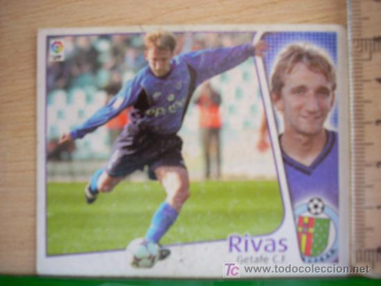 CROMO DE RIVAS // GETAFE CF // LIGA 2004 - 2005 // EDICIONES ESTE. (Coleccionismo Deportivo - Álbumes y Cromos de Deportes - Cromos de Fútbol)