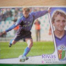 Cromos de Fútbol: CROMO DE RIVAS // GETAFE CF // LIGA 2004 - 2005 // EDICIONES ESTE. . Lote 5910420