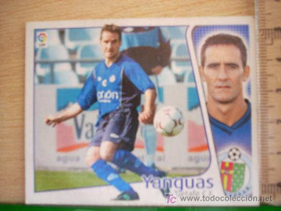 CROMO DE YANGUAS // GETAFE CF // LIGA 2004 - 2005 // EDICIONES ESTE. (Coleccionismo Deportivo - Álbumes y Cromos de Deportes - Cromos de Fútbol)