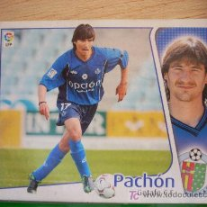 Cromos de Fútbol: CROMO DE PACHÓN // GETAFE CF // LIGA 2004 - 2005 // EDICIONES ESTE. . Lote 5910433