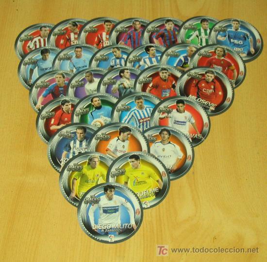 EDICIONES ESTE 2006/07 - LOS 28 CRACKS DE LA LIGA - NOCILLA. ALBUM ESTE 06/07 ( ) (Coleccionismo Deportivo - Álbumes y Cromos de Deportes - Cromos de Fútbol)