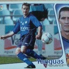 Cromos de Fútbol: CROMO DE YANGUAS // GETAFE CLUB DE FÚTBOL // LIGA 2004 - 2005 // EDICIONES ESTE. . Lote 7405376