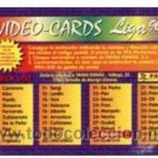 Cromos de Fútbol: 3 CROMOS DE REAL MADRID - PANINI - VIDEO CARDS 96-97 ,16 AMAVISCA, 17 CAÑIZARES, 18 HIERRO. Lote 24998094