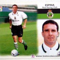 Cromos de Fútbol: CROMO EDIC. ESTE 1999 2000 ULTIMOS FICHAJES Nº 7 ESPINA R.RACING 99 00. Lote 21547438