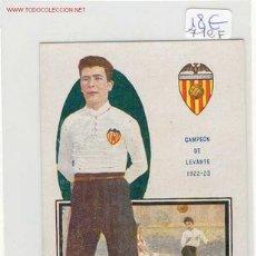 Cromos de Fútbol: FUTBOL VALENCIA C.F. CORDELLAT JUGADOR AÑOS 20. Lote 4809302