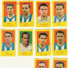 Cromos de Fútbol: (2350-F) CROMOS FUTBOL REAL SOCIEDAD CAMPEONES 1961 A 4 EUROS LA UNIDAD.. Lote 180335248