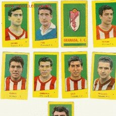 Cromos de Fútbol: (2350-F) CROMOS FUTBOL GRANADA F.C.CAMPEONES 1961 A 4 EUROS LA UNIDAD.. Lote 180335261