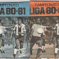 Cromos de Fútbol: FUTBOL CROMOS LIGA 80 81 DOS SOBRES SIN ABRIR NUEVOS. Lote 177972312