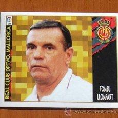 Cromos de Fútbol: MALLORCA - TOMEU LLOMPART - BAJA - EDICIONES ESTE 1997-1998, 97-98 - NUNCA PEGADO. Lote 26228890