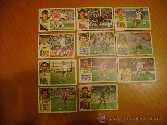 CROMOS FUTBOL O FUTBOLISTAS LIGA 82/83 (Coleccionismo Deportivo - Álbumes y Cromos de Deportes - Cromos de Fútbol)
