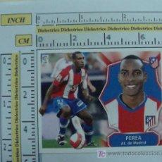 Cromos de Fútbol: CROMO DE LA LIGA 2008 - 2009 ATLÉTICO DE MADRID. PEREA. EDICIONES ESTE. . Lote 12158970