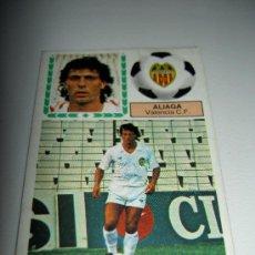 Cromos de Fútbol: CROMO FICHAJE 39 ALIAGA VALENCIA CROMOS ALBUM LIGA FUTBOL EDICIONES ESTE 83 84 1983 1984. Lote 17665414