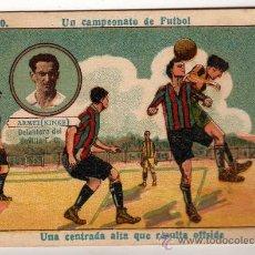 Cromos de Fútbol: N.20 UN CAMPEONATO DE FUTBOL - ARMET ( KINKE ) DELANTERO DEL SEVILLA FC. Lote 12706579