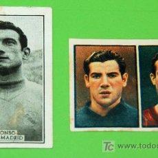 Cromos de Fútbol: 2 CROMOS FÚTBOL AÑOS 50-60. Lote 21068001