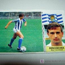 Cromos de Fútbol: CROMO COLOCA BENGOECHEA REAL SOCIEDAD CROMOS ALBUM EDICIONES ESTE LIGA FUTBOL 1986 1987 86 87. Lote 26491371
