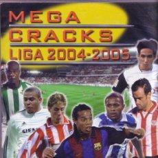 Cromos de Fútbol: LOTE DE 218 CROMOS TRADING CARDS DISTINTOS DE MEGACRACKS MEGA CRACKS 2004-05. Lote 31624849