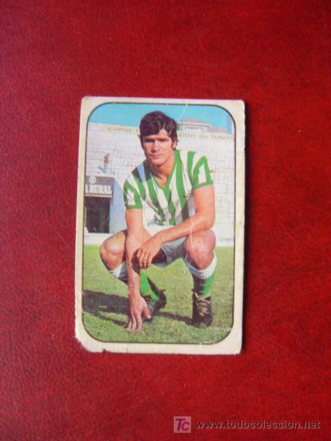 BIOSCA - REAL BETIS - EDICIONES ESTE 76-77 - 1976-1977 (Coleccionismo Deportivo - Álbumes y Cromos de Deportes - Cromos de Fútbol)