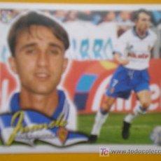 Cromos de Fútbol: 00-01 LIGA ESTE 2000-2001 JUANELE ( ZARAGOZA ). Lote 15569659