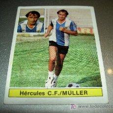 Cromos de Fútbol: CROMO FICHAJE 28 BIS MULLER HERCULES CROMOS ALBUM EDICIONES ESTE LIGA FUTBOL 1981 1982 81 82. Lote 15721159