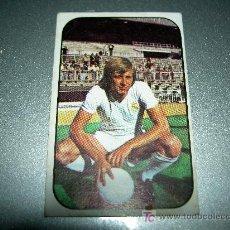 Cromos de Fútbol: CROMO FICHAJE 14 JENSEN REAL MADRID CROMOS ALBUM EDICIONES ESTE LIGA FUTBOL 1976-1977 76-77 . Lote 26910876