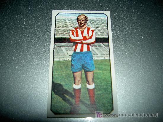 CROMO FICHAJE 7 VERSION MARCIAL AT. MADRID CROMOS ALBUM ESTE LIGA FUTBOL 1977 1978 77 78 (Coleccionismo Deportivo - Álbumes y Cromos de Deportes - Cromos de Fútbol)