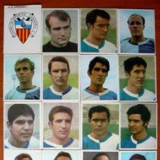 Cromos de Fútbol: SABADELL 1968-1969, 68-69 - EDITORIAL BRUGUERA CAMPEONES - 17 CROMOS. Lote 18025864