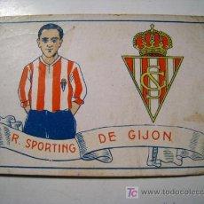 Cromos de Fútbol: R. SPORTING DE GIJON - CROMO FUTBOL - 1929. Lote 16328109