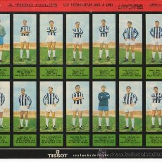 Cromos de Fútbol: LAMINA CON EL EQUIPO DE FUTBOL DE CASTELLON CLUB DE FUTBOL AÑO 1967 LAMINA 51. Lote 24916030