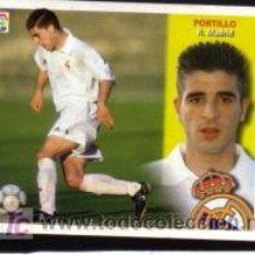 Cromos de Fútbol: EDICIONES ESTE 2002/2003 02 03 - FICHAJE 2 - PORTILLO - R. MADRID ( NUNCA PEGADO ). Lote 276158078