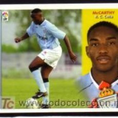 Cromos de Fútbol: EDICIONES ESTE 2002/2003 - FICHAJE 8 BIS - MCCARTHY - R.C. CELTA. ALBUM ESTE 02/03 ( ). Lote 117952038