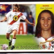 Cromos de Fútbol: EDICIONES ESTE 2002/2003 - FICHAJE 12 BIS - MARIO - R. VALLECANO. ALBUM ESTE 02/03 ( ). Lote 261696995