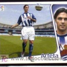 Cromos de Fútbol: EDICIONES ESTE 2004/05 - ÚLTIMO FICHAJE 10 - ARTETA - R. SOCIEDAD. ALBUM ESTE 04/05 ( ) . Lote 16734656