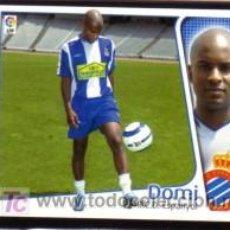 Cromos de Fútbol: EDICIONES ESTE 2004/05 - ÚLTIMO FICHAJE 12 - DOMI - RCD. ESPANYOL. ALBUM ESTE 04/05 ( ). Lote 16734801
