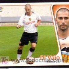 Cromos de Fútbol: EDICIONES ESTE 2004/05 - ÚLTIMO FICHAJE 18 - DI VAIO - VALENCIA CF. ALBUM ESTE 04/05 ( ) . Lote 16734997