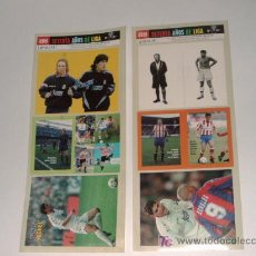 Cromos de Fútbol: PEGATINAS COLECCION LANZADA POR AS SETENTA AÑOS DE LIGA....1929-1999(26). Lote 25998380