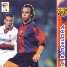 Cromos de Fútbol: FÚTBOL. CROMO. F. C. BARCELONA. ZENDEN. NUEVO.. Lote 25256674