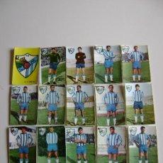Cromos de Fútbol: 17 CROMOS DEL C.D. MALAGA.LIGA 1966-67 Y PROXIMOS. Lote 27563868