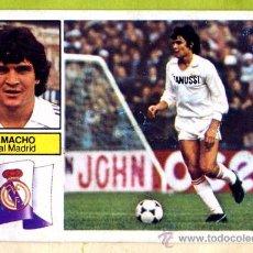 Cromos de Fútbol: EDICIONES ESTE LIGA 82-83. CAMACHO - REAL MADRID.. Lote 18124737