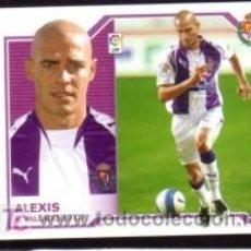 Cromos de Fútbol: EDICIONES ESTE 2007/08 – FICHAJE 41 ALEXIS - R. VALLADOLID ( NUNCA PEGADO ). ALBUM 07/08 () . Lote 18211461