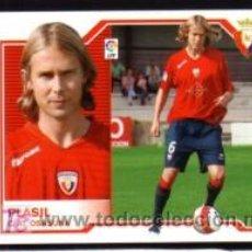Cromos de Fútbol: EDICIONES ESTE 2007/08 – FICHAJE 44 PLASIL - AT. OSASUNA ( NUNCA PEGADO ). ALBUM 07/08 () . Lote 18211550