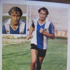 Cromos de Fútbol: LIGA 81-82 ESTE HERCULES ULTIMOS FICHAJES NUMERO 28 BIS MULLER MIREN FOTOS ES EL MISMO. Lote 18349293