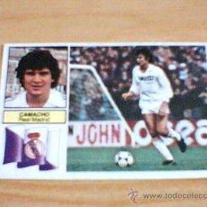 Cromos de Fútbol: -ESTE 82-83 : CAMACHO ( REAL MADRID ). Lote 18353419