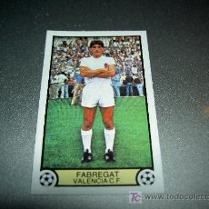 Cromos de Fútbol: CROMO FICHAJE 23 FABREGAT VALENCIA CROMOS ALBUM EDICIONES ESTE LIGA FUTBOL 1979 1980 79 80. Lote 19720332