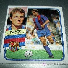 Cromos de Fútbol: CROMO ROBERTO F.C. BARCELONA CROMOS ALBUM ESTE LIGA FUTBOL 1989-1990 89-90 . Lote 18764519